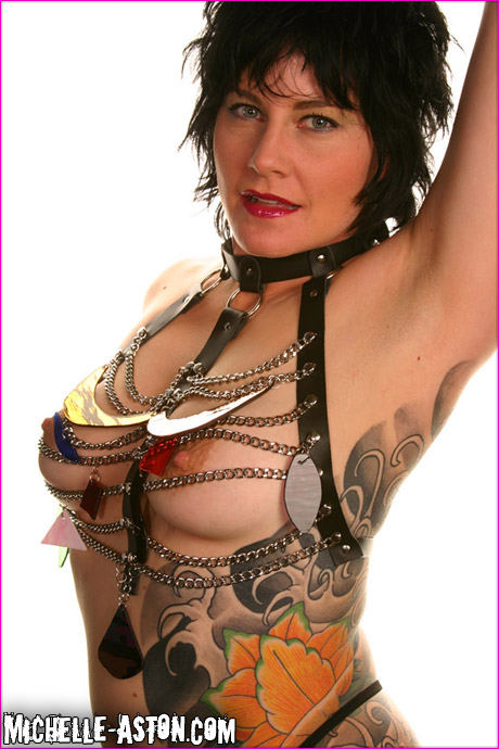 Michelle Aston Leather Harness