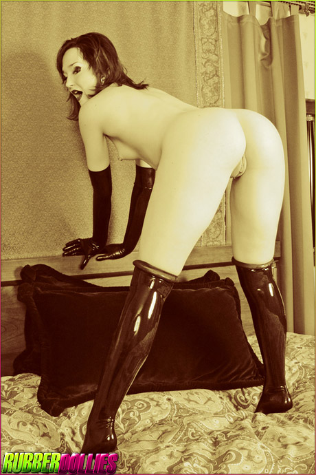 Genesis LaVey Rubber Stockings
